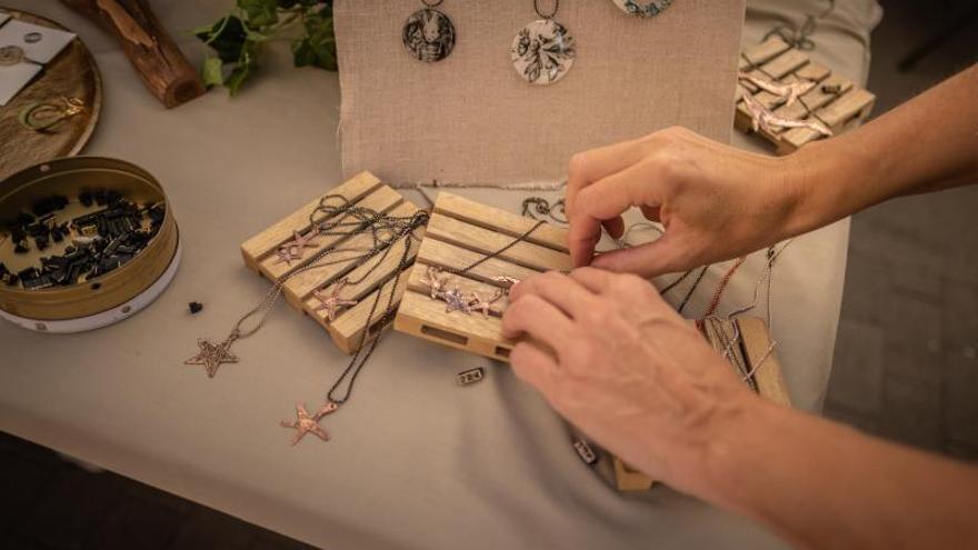 Muestra de artesanía en La Laguna