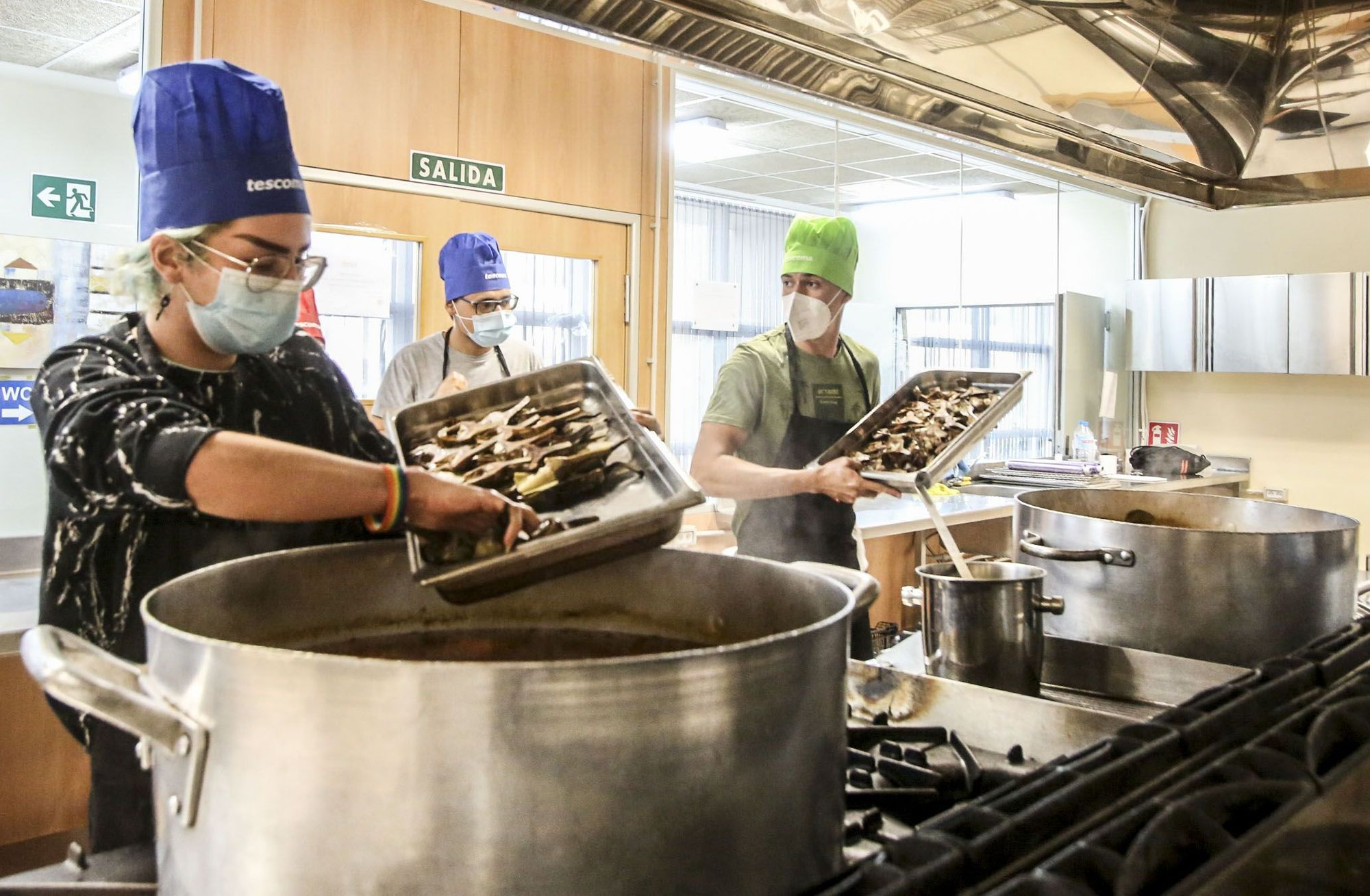 Alicante Gastronómica and the Chamber of Commerce join forces to insert 30 unemployed people into the labor market and feed families without resources