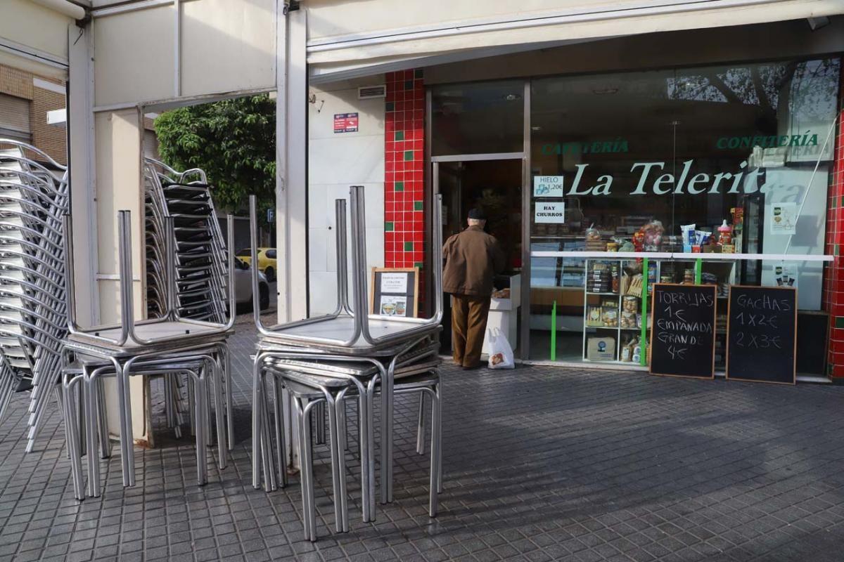 El estado de alarma deja vacías las calles de Córdoba
