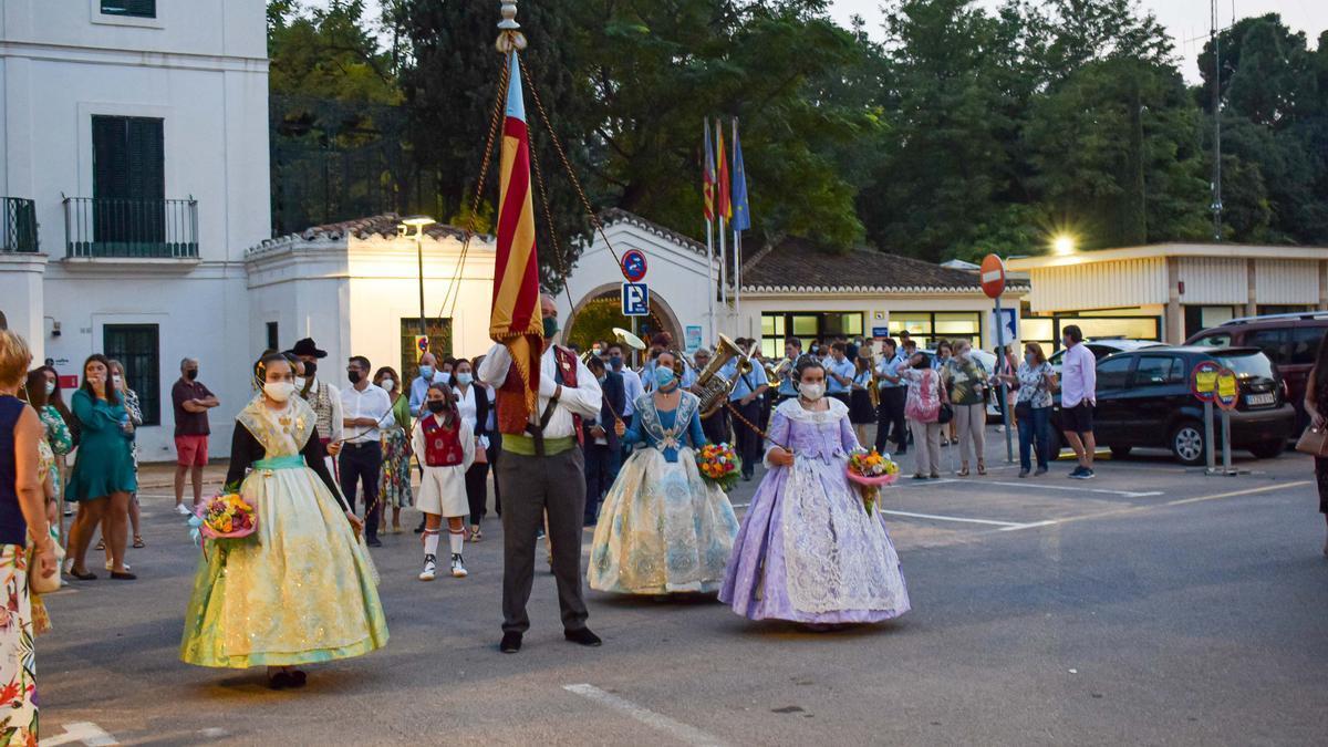 Torrent celebrará mañana la procesión cívica del 9 d'Octubre, en homenaje a Jaume I y la Senyera.