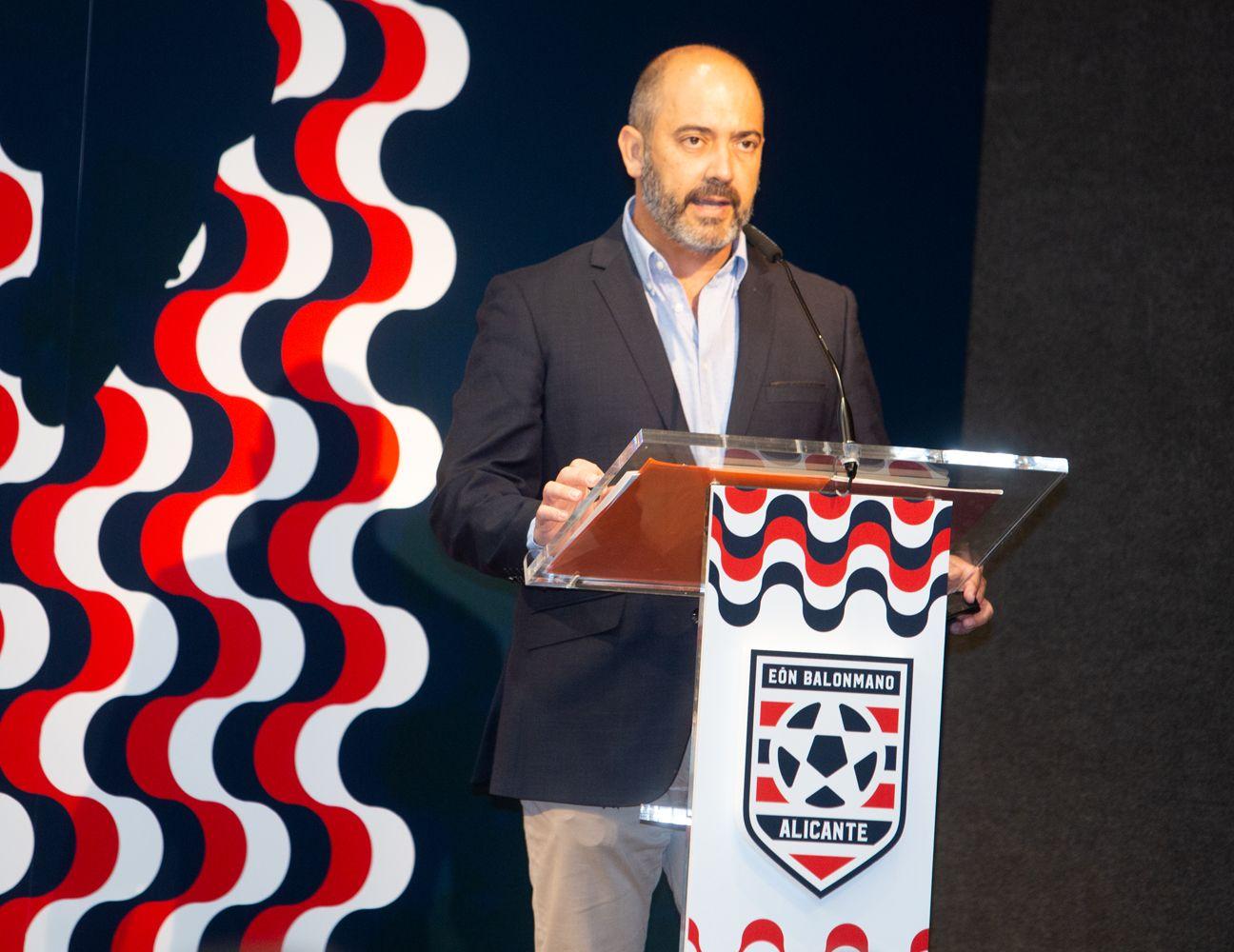Presentación Eon Balonmano Alicante