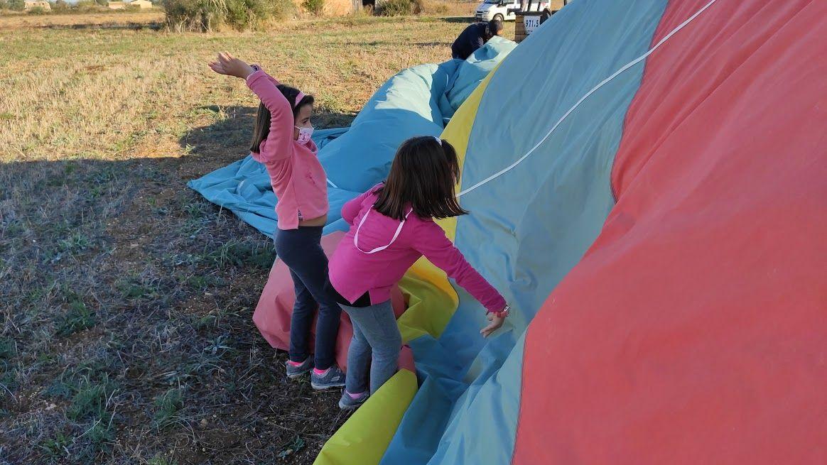 La terapia de volar en globo