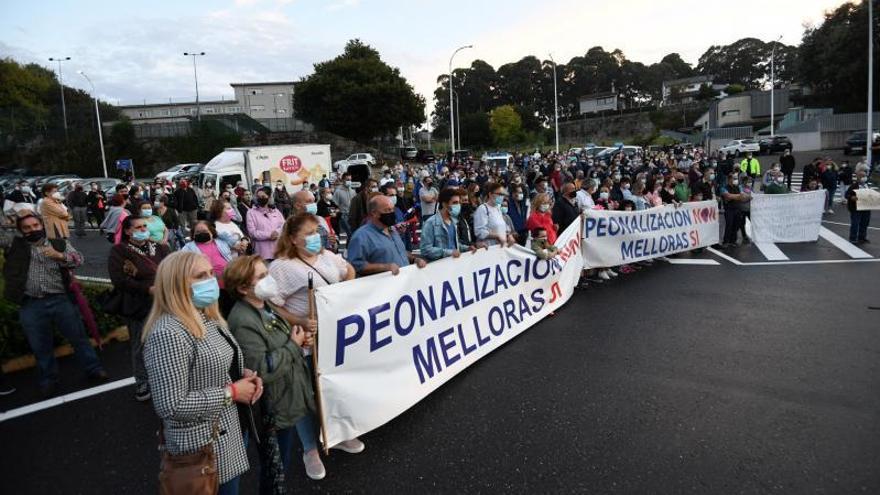 El Concello paraliza la peatonalización en Monte Porreiro y los vecinos exigen algún plan de tráfico