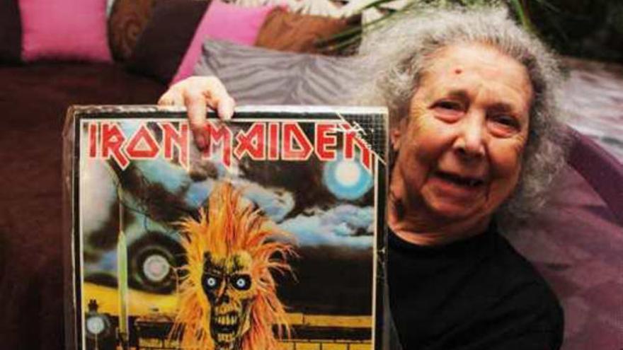 La abuela del 'heavy metal'