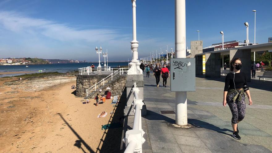 Asturias disfruta de un día de sol y calor: se alcanzaron los 20 grados
