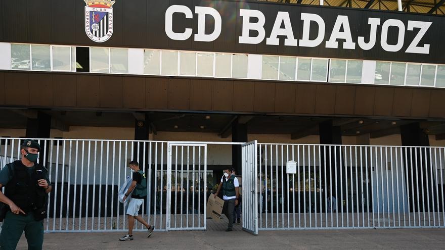 El CD Badajoz se desvincula de la investigación de la Guardia Civil