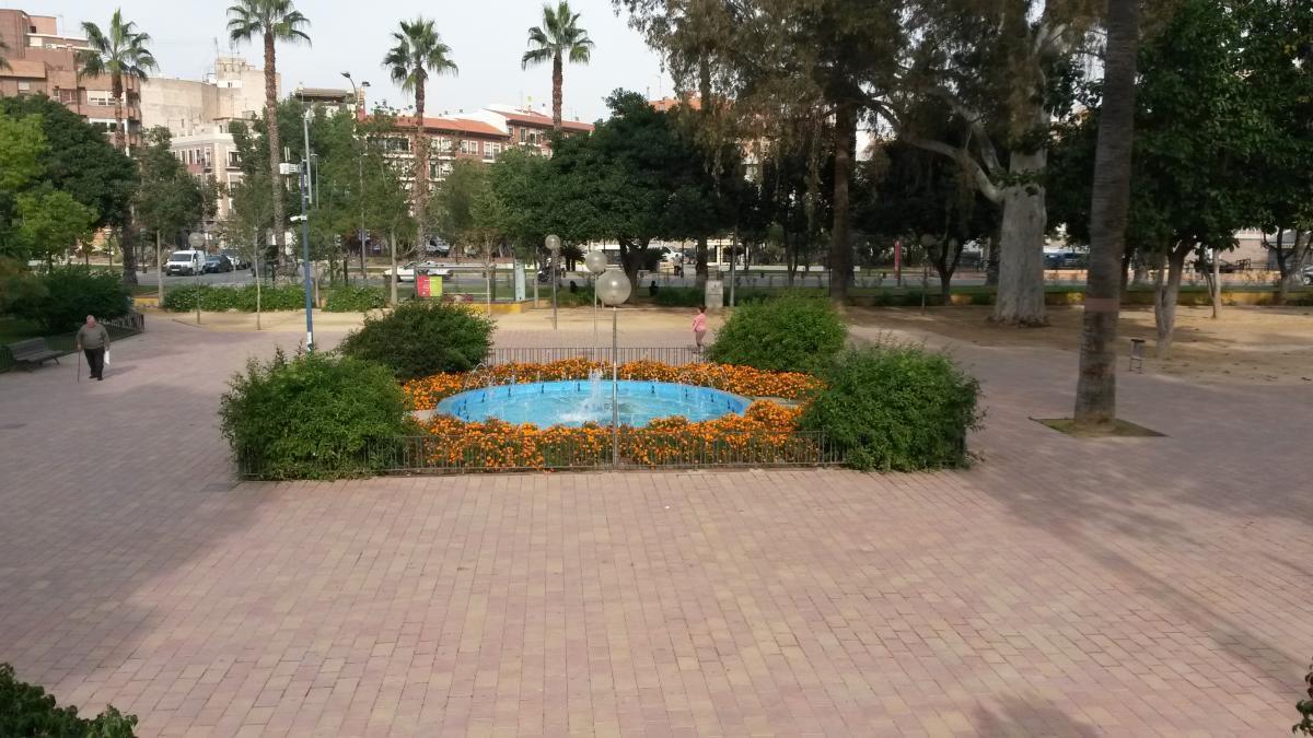 Jardín del Malecón, en una foto de archivo.