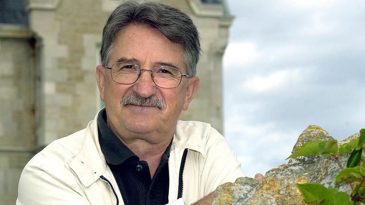Muere Mikel Azurmendi, en una imagen de archivo.