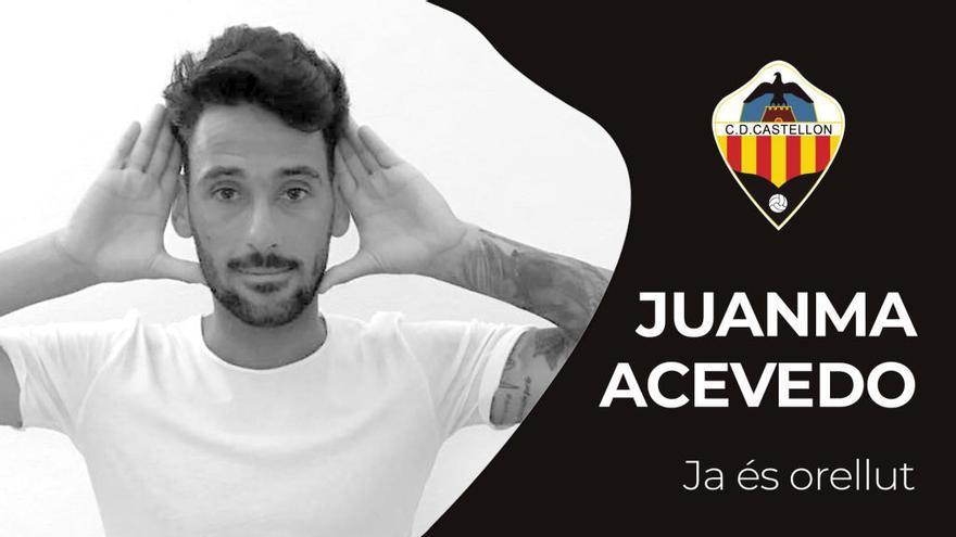 El extremo Juanma Acevedo se incorpora al CD Castellón
