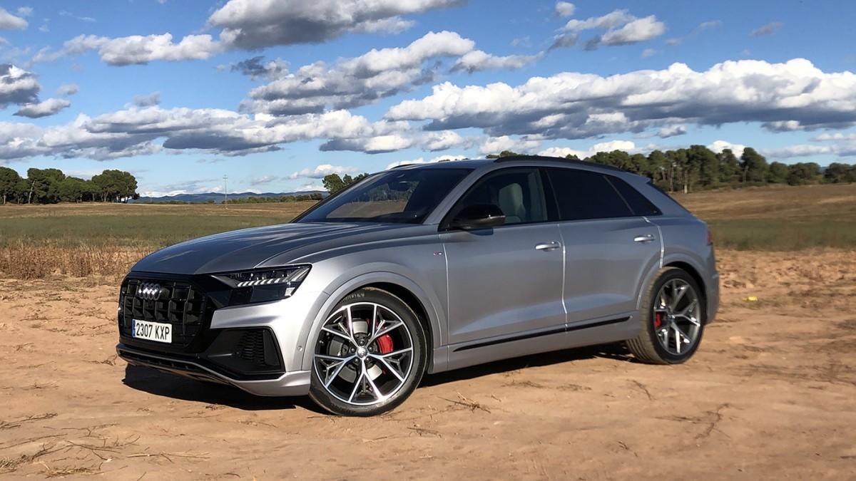Prueba del Audi Q8, un SUV de lujo con etiqueta 'ECO'