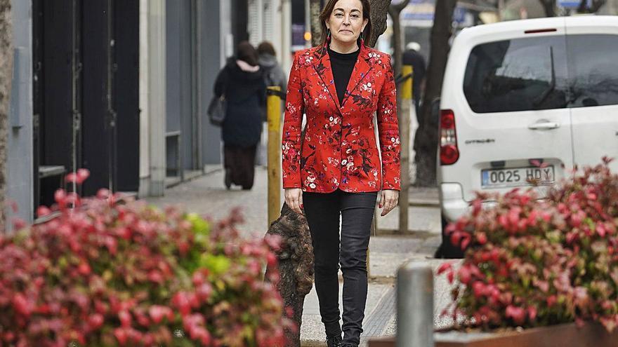 Sílvia Paneque, consellera de Transició Ecològica... a l'ombra
