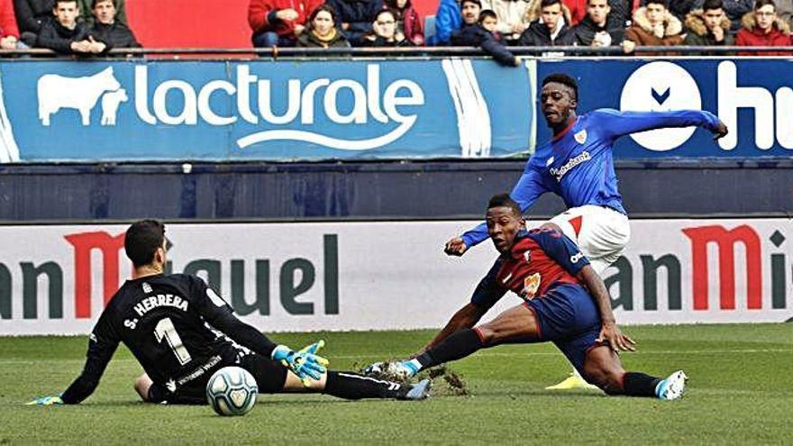 L'Athletic assalta Pamplona (1-2)