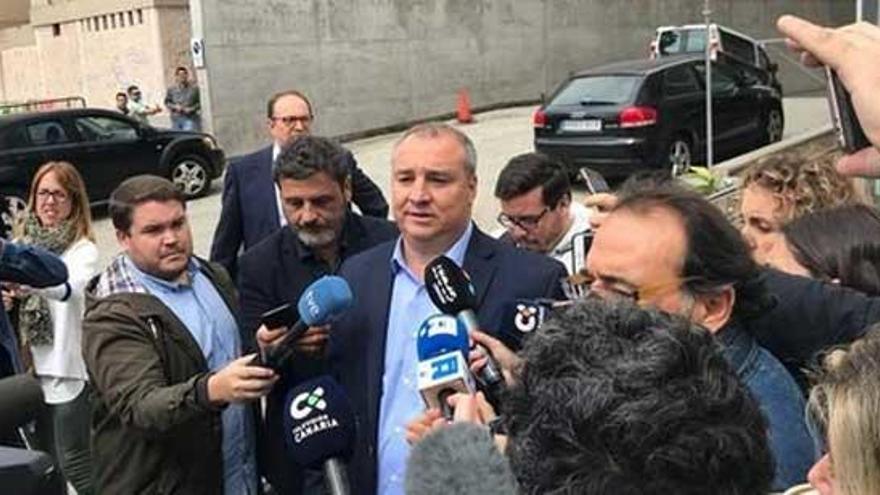 El presidente de Las Palmas, en libertad sin fianza