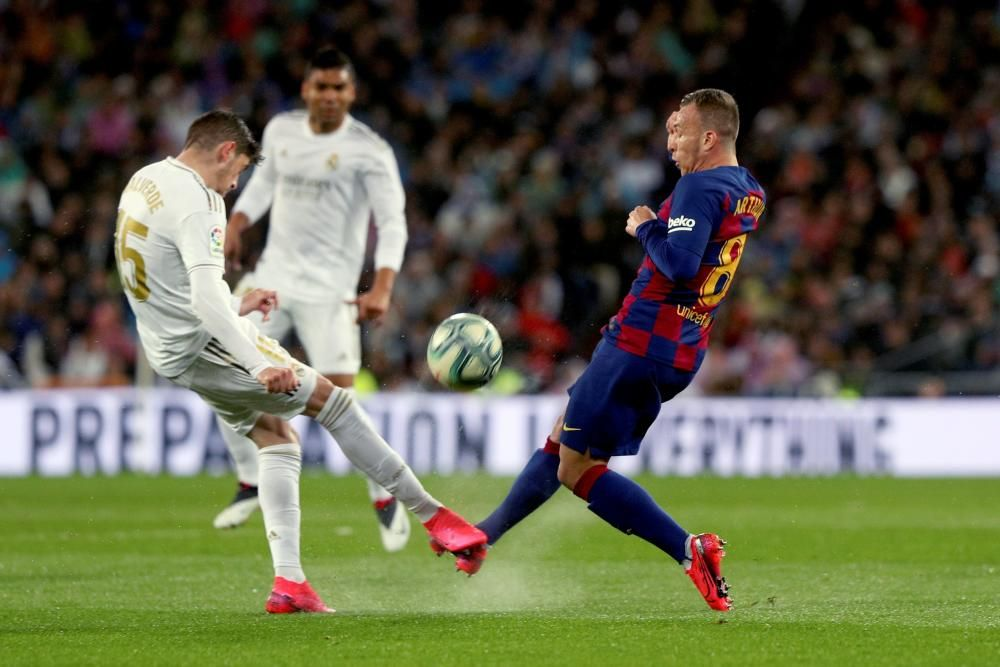 LaLiga Santander: Real Madrid - FC Barcelona.