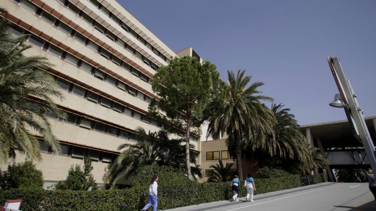 Una imagen del Hospital General Universitario de Elche