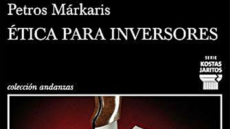 Petros Márkaris, el último superviviente