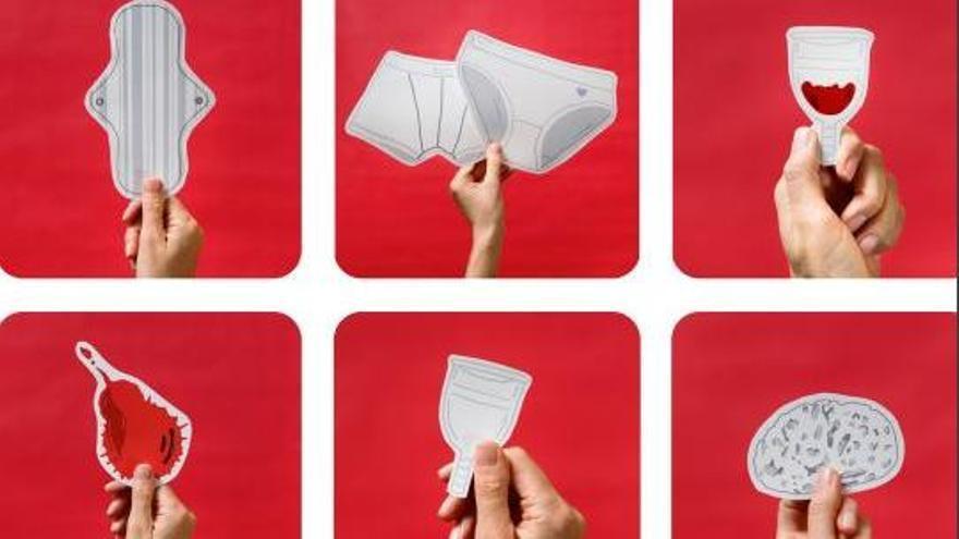 Una campaña del Govern propone el uso de compresas de tela para contaminar menos