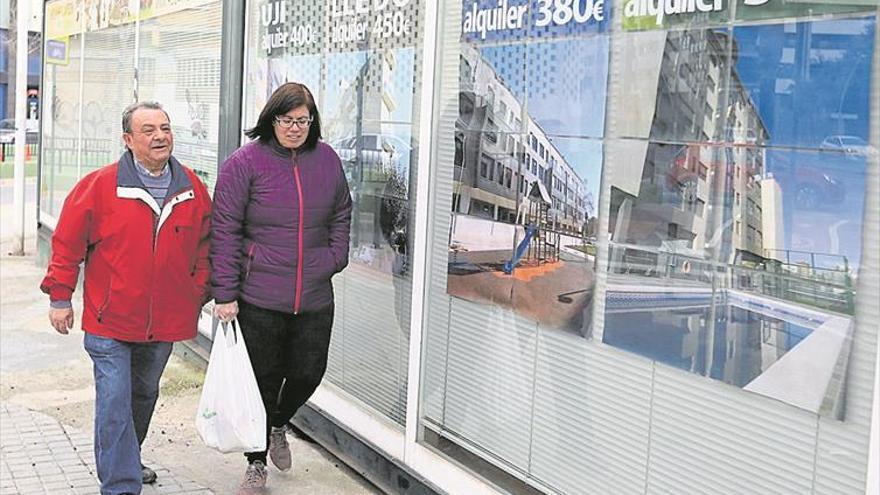 El precio del alquiler va por barrios en Castellón