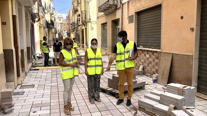 Almassora licita las obras del casco antiguo por valor de 450.000 euros