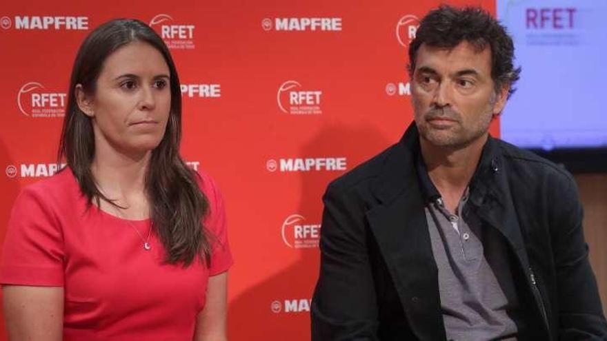 Sergi Bruguera y Anabel Medina, elegidos capitanes de la Davis y Copa Federación