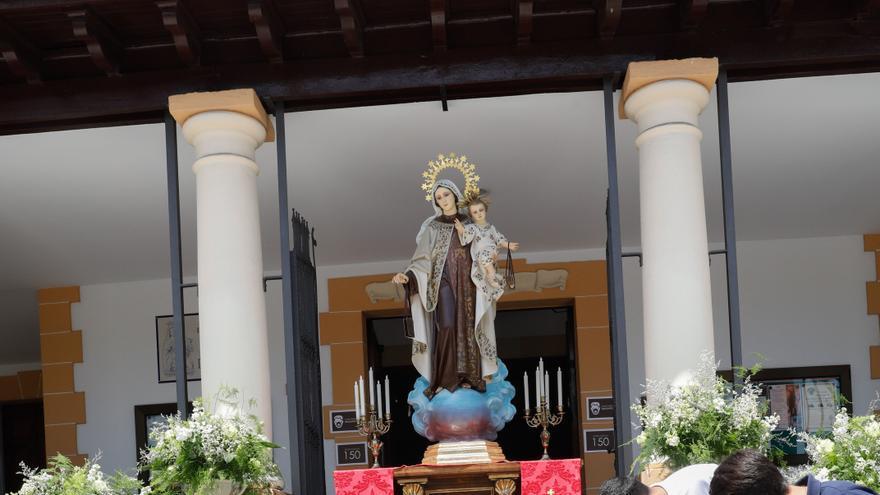 La Virgen del Carmen estrenará halo en su coronación como patrona de Salinas