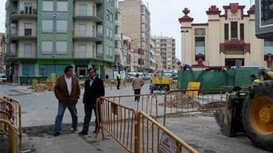 Urbanismo inicia las obras de mejora del cruce de las calles San Pascual y San Salvador