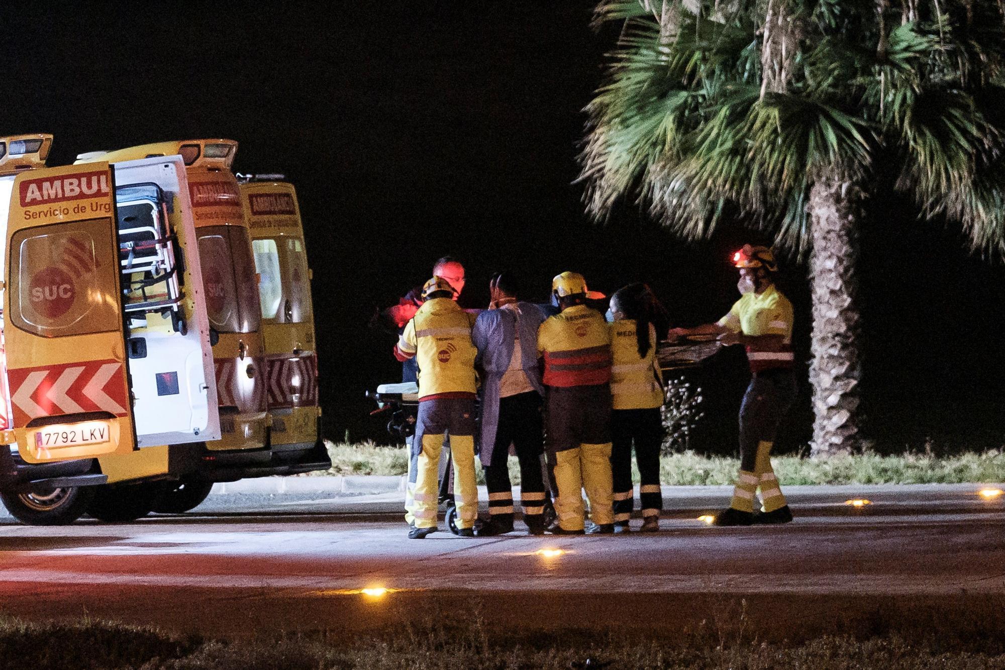 Muere una niña en el helicóptero de rescate tras pasar 17 días en una patera