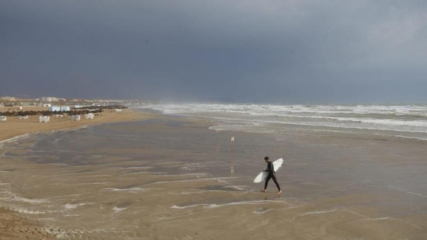 El temporal llega a la Comunitat Valenciana