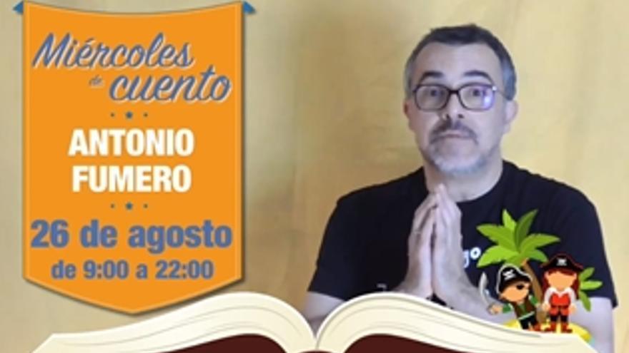 Miércoles de cuento, con Antonio Fumero