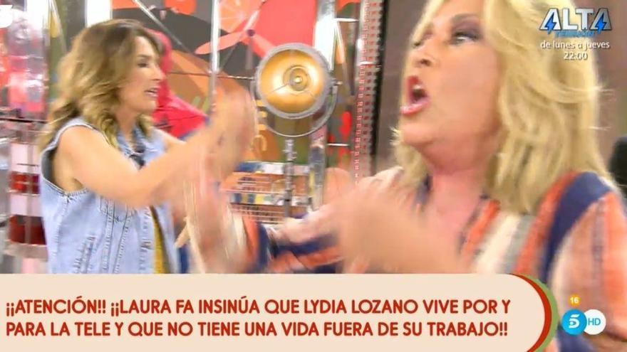 La gran traición de Laura Fa a Sálvame con puñalada a Lydia Lozano en donde más le duele