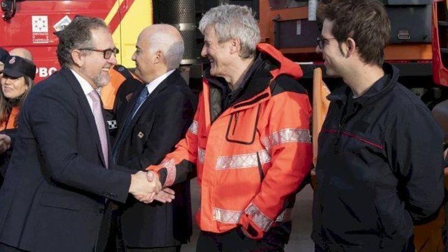 Galardón para el jefe de la Sección Forestal del Cuerpo de Bomberos de Castellón
