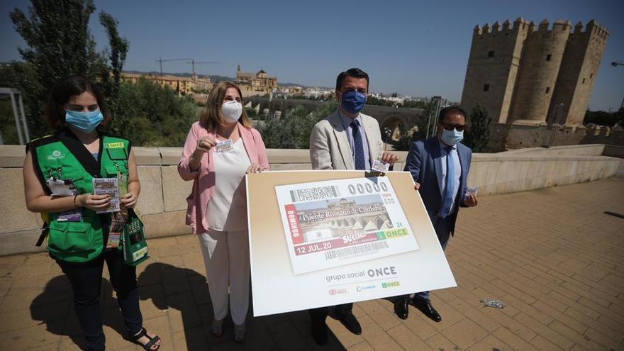 El Puente Romano de Córdoba protagoniza el cupón de la ONCE del 12 de julio