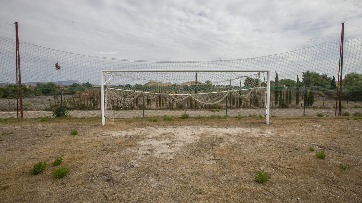 El campo de entrenamiento de Fontcalent, este miércoles.