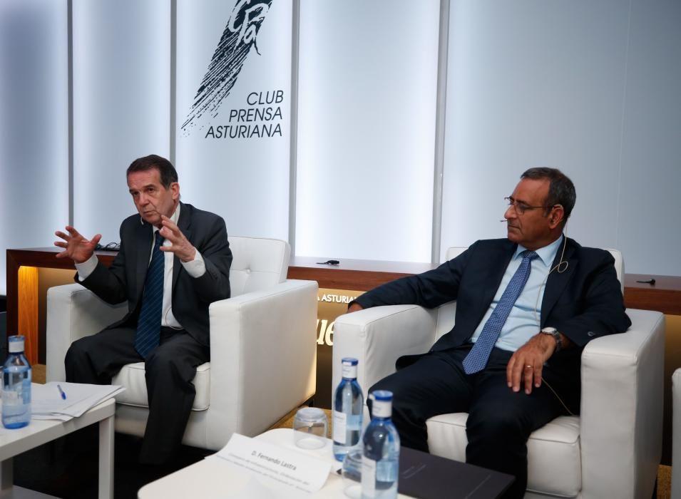 Coloquio entre Fernando Lastra y Abel Caballero