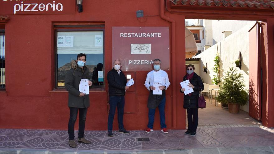 Dos empresas se alían en Benitatxell para ofrecer 100 menús a familias vulnerables