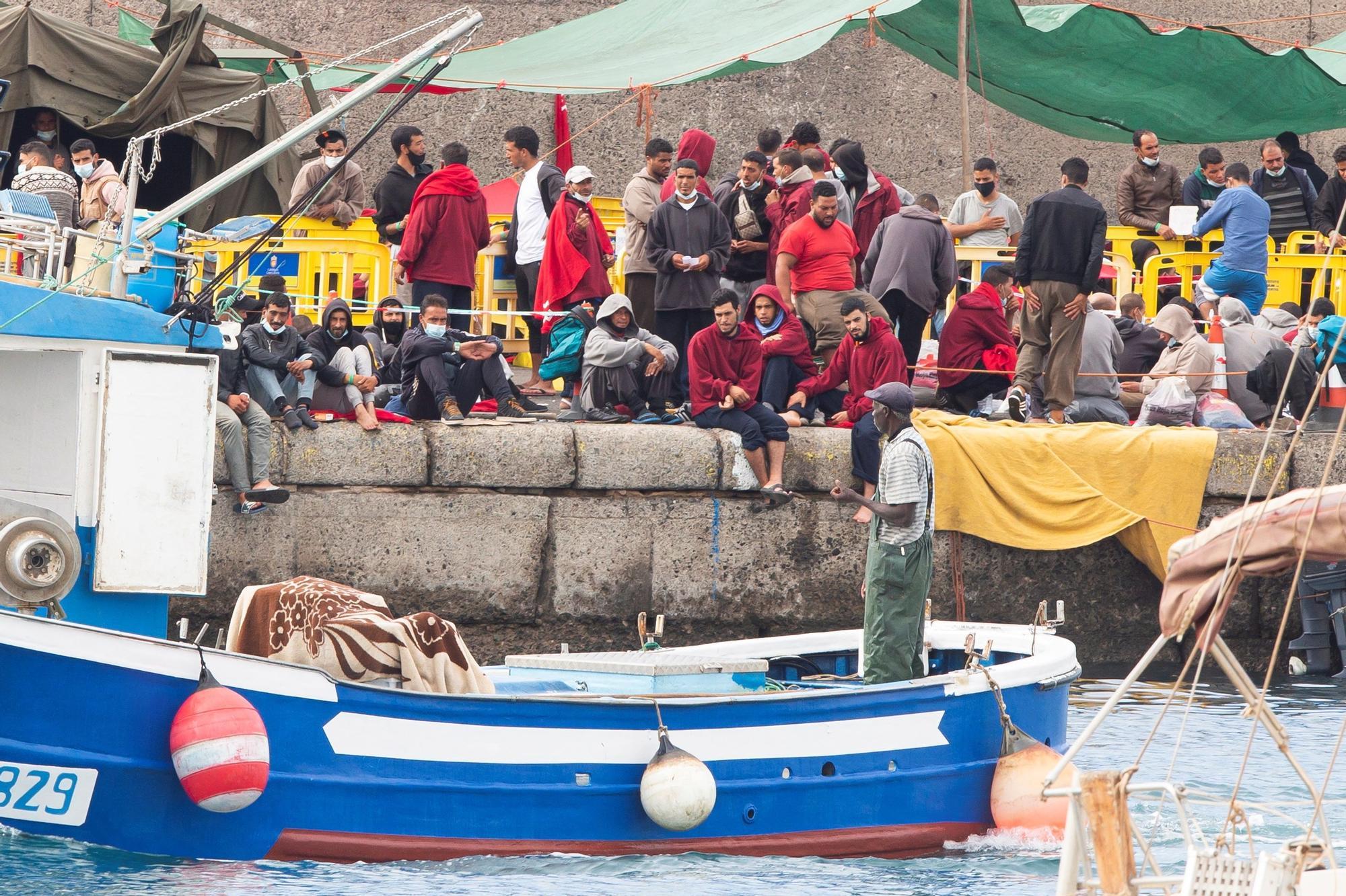 Rescate de 281 inmigrantes en Canarias este jueves