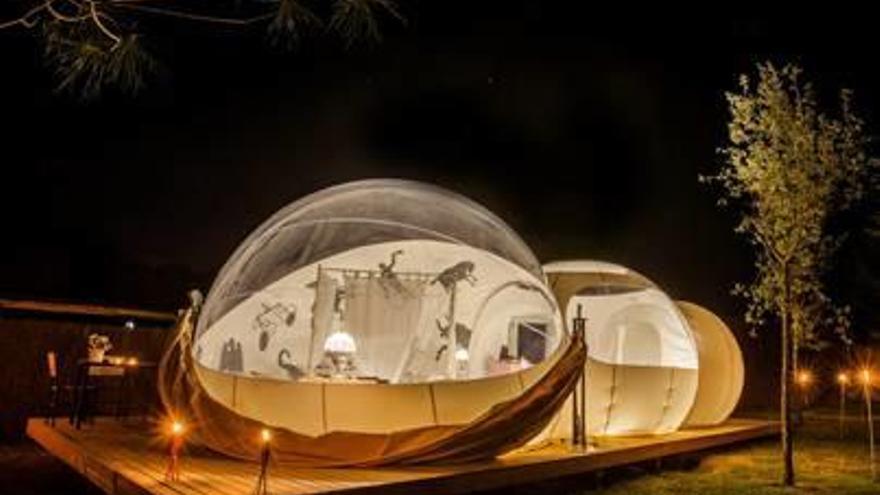 Un nuevo cámping permitirá dormir bajo las estrellas en Càlig