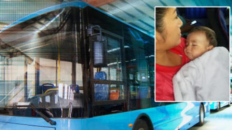 Consigue detener un autobús después de que el conductor perdiera el conocimiento