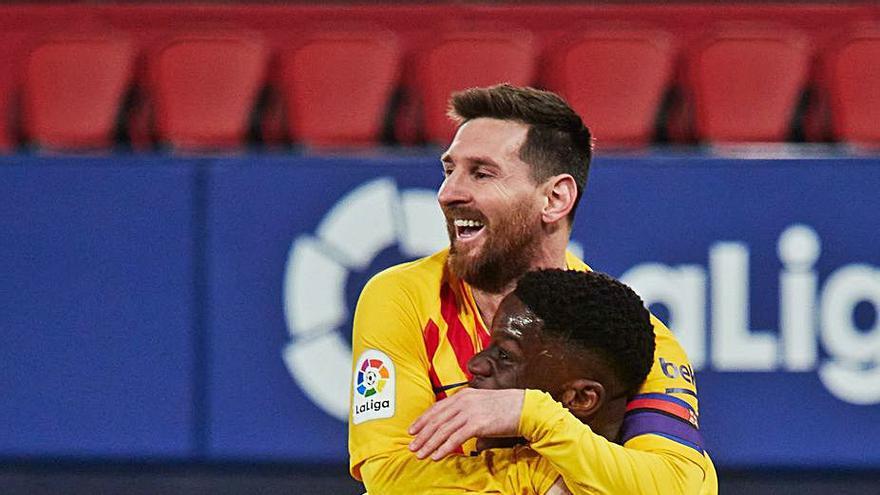 El Barcelona recupera la esperanza