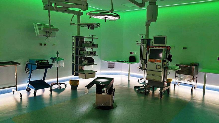 L'hospital de Figueres renova els quatre quiròfans construïts el 1994