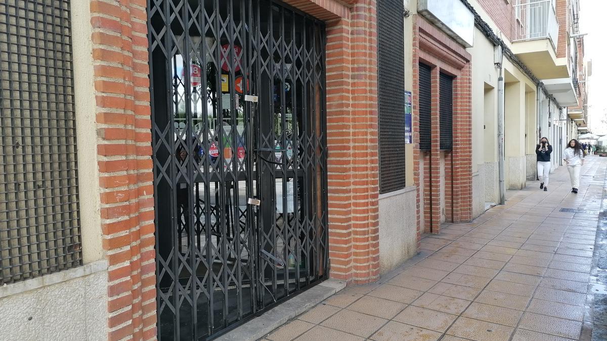 Establecimiento hostelero de Toro en el que los ladrones se apropiaron del dinero de tres máquinas