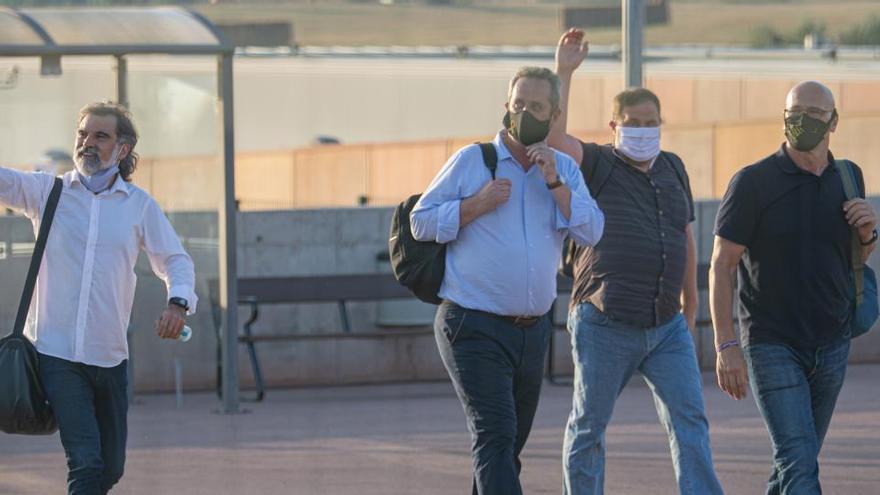Justicia dice que tramita los indultos del 'procés' sin presiones y a su ritmo