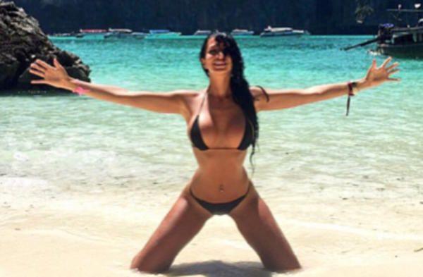 Las fotos más sexis de Aurah Ruiz en bikini