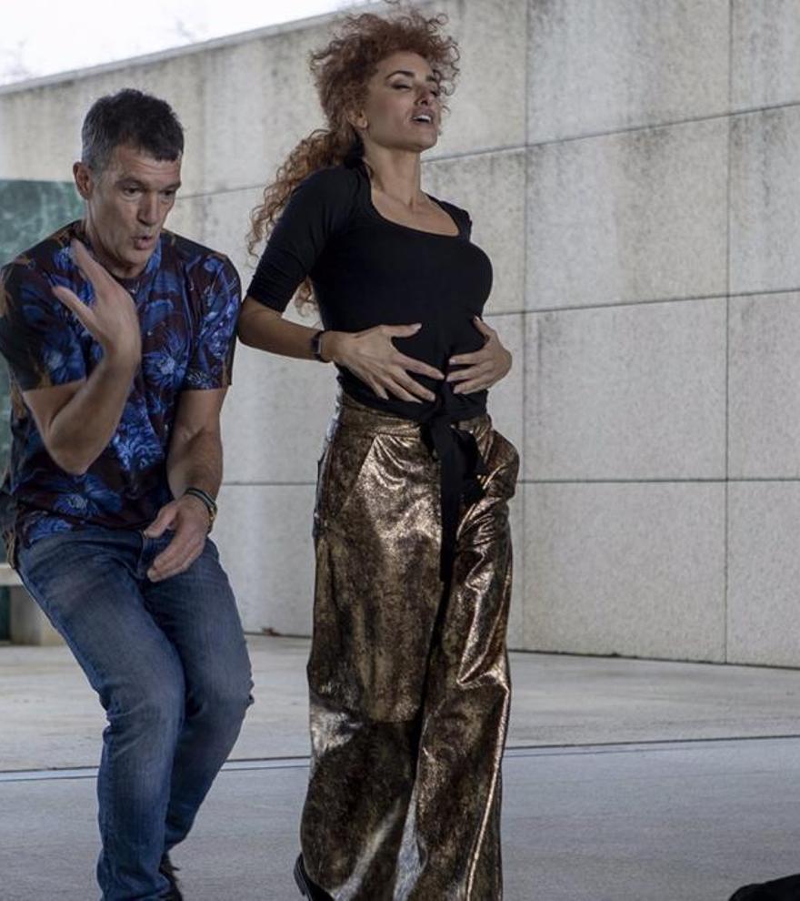 'Competencia oficial' une de nuevo las vidas de Penélope Cruz y Antonio Banderas