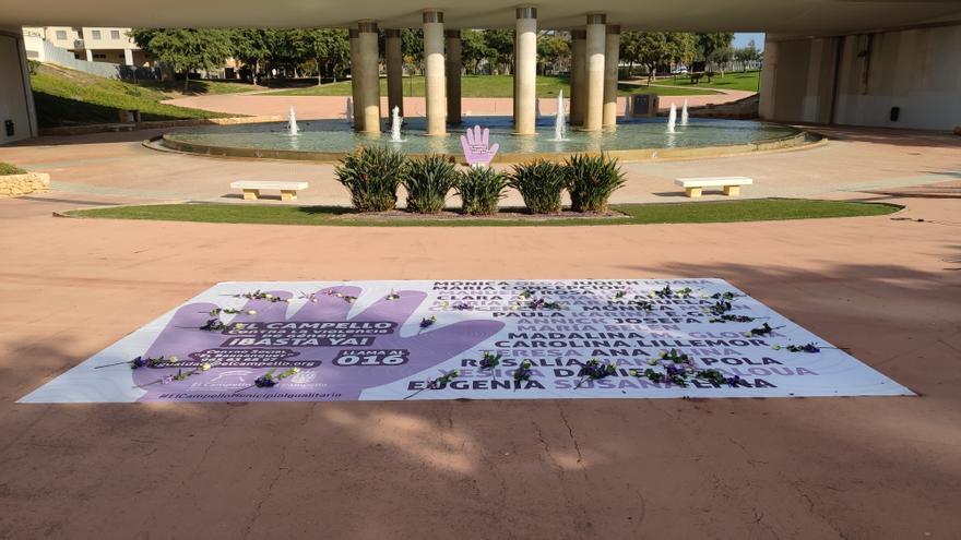 El Campello rinde homenaje a las víctimas de la violencia machista