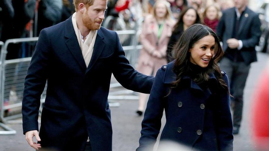 Primer acto oficial juntos del príncipe Enrique y Meghan Markle