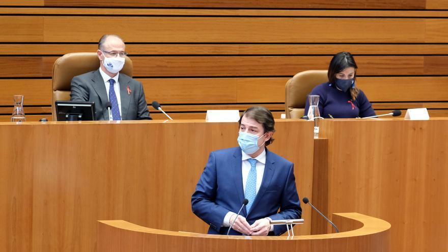 Mañueco comparecerá el 5 de febrero en las Cortes para explicar las medidas adoptadas por el COVID