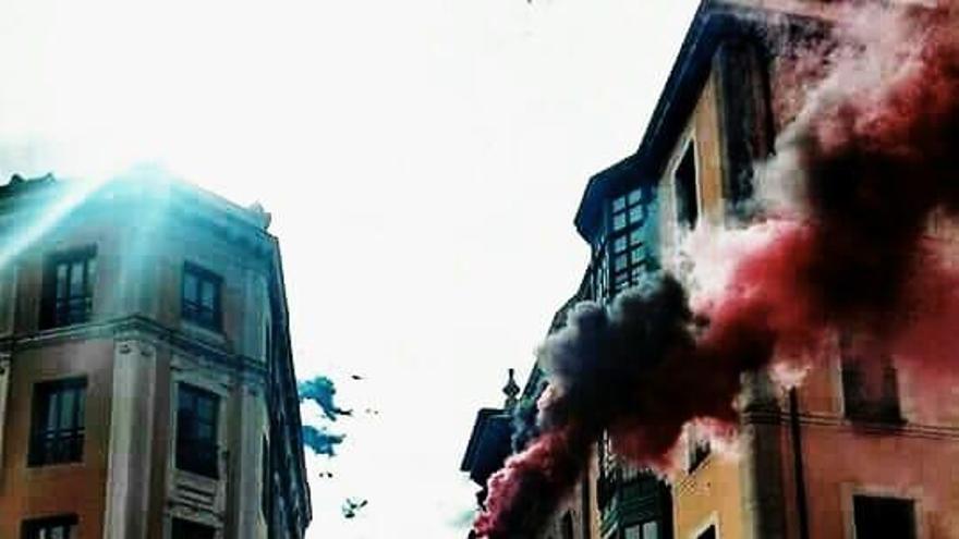 Detienen a tres sindicalistas de la CNT por piquetes en la huelga feminista en Gijón
