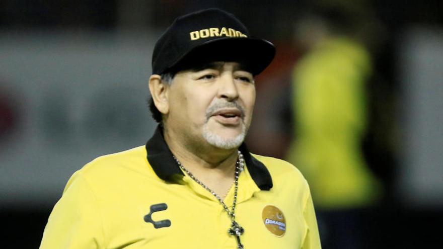 Maradona recibe el alta