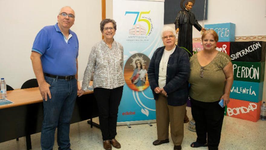 Las salesianas cumplen 75 años  en el barrio de Guanarteme